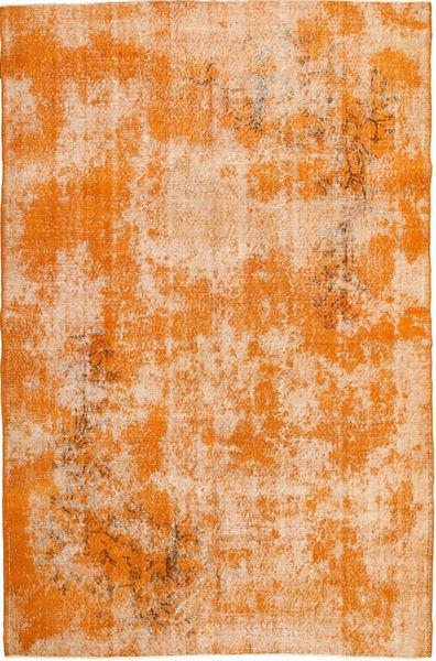 Colored Vintage Tapijt 178X272 Echt Modern Handgeknoopt Oranje/Lichtroze (Wol, Turkije)