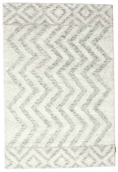 Himalaya 絨毯 123X185 モダン 手織り ベージュ/薄い灰色/ホワイト/クリーム色 ( インド)