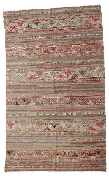 Kilim Semi Antique Turkish Rug 178X298 Authentic  Oriental Handwoven Light Grey/Brown (Wool, Turkey)