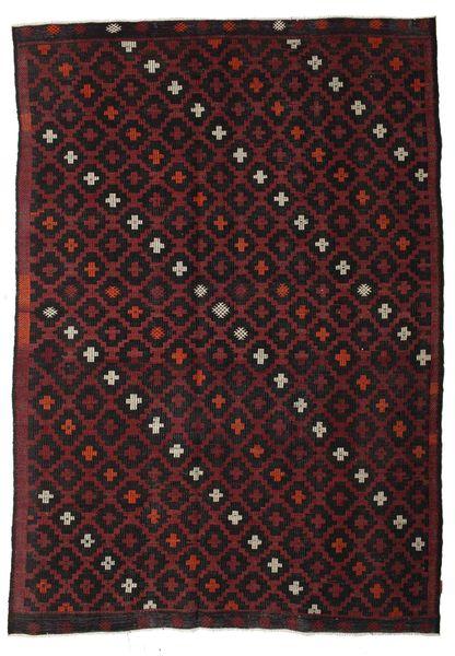 Kilim Semi Antique Turkish Rug 222X315 Authentic  Oriental Handwoven Dark Brown/Dark Red (Wool, Turkey)
