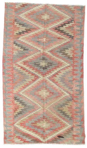 Kilim semi antique Turkish rug XCGZK880