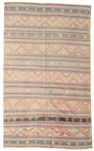 Kilim Semiantigua Turquía Alfombra 195X316 Oriental Tejida A Mano Marrón Claro/Gris Claro (Lana, Turquía)