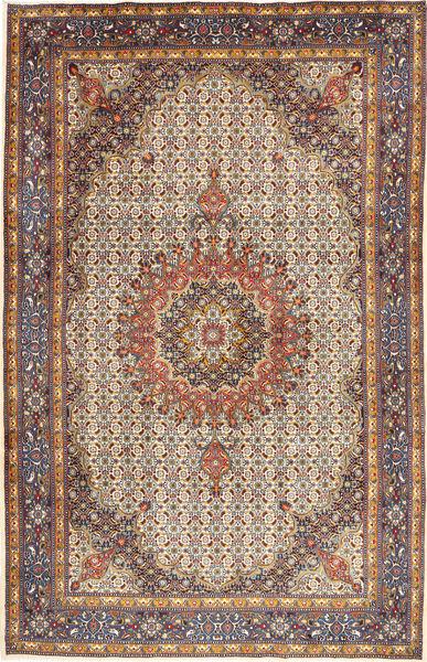 Moud Matto 215X330 Itämainen Käsinsolmittu Vaaleanruskea/Vaaleanvioletti (Villa, Persia/Iran)
