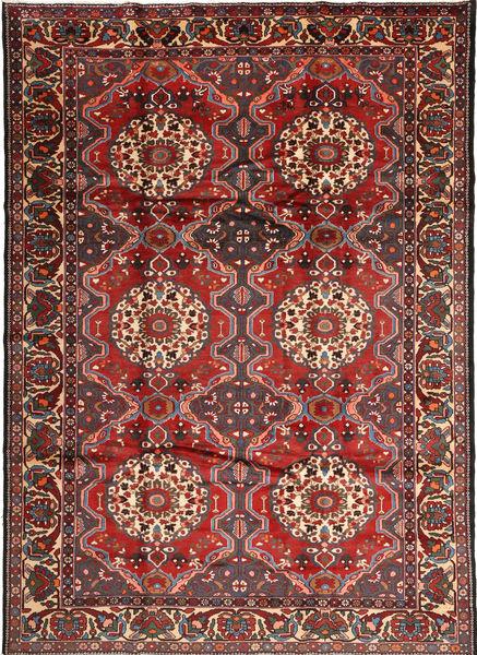 Bakhtiar Alfombra 222X310 Oriental Hecha A Mano Rojo Oscuro/Marrón (Lana, Persia/Irán)