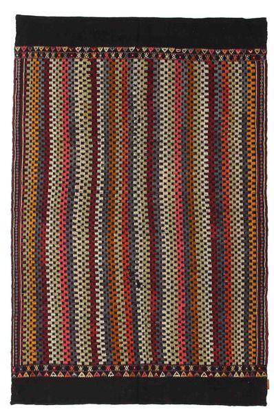 Tapis Kilim semi-antique Turquie XCGZK1048