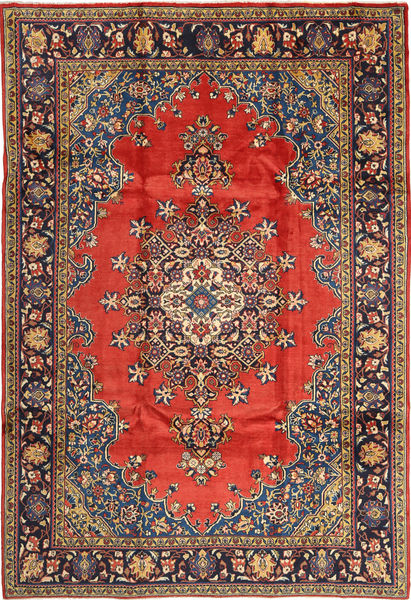 Wiss Alfombra 230X335 Oriental Hecha A Mano Marrón Claro/Negro (Lana, Persia/Irán)