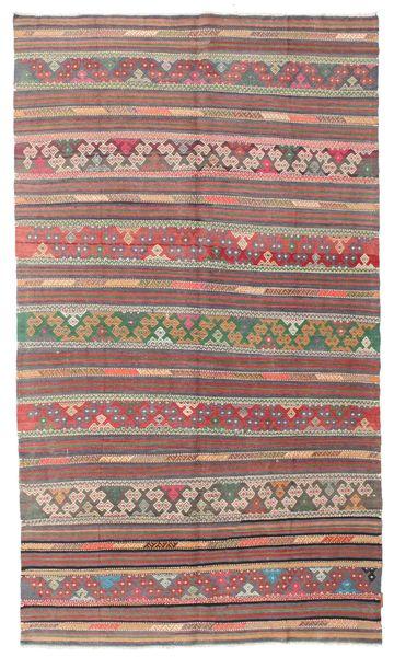 Kelim Semiantiikki Turkki Matto 164X285 Itämainen Käsinkudottu Vaaleanruskea/Vaaleanharmaa (Villa, Turkki)