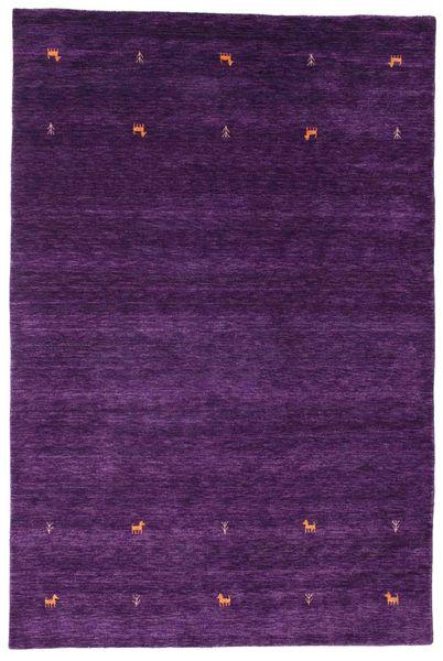 Gabbeh Loom Two Lines - Violet Tapis 190X290 Moderne Violet Foncé/Violet (Laine, Inde)