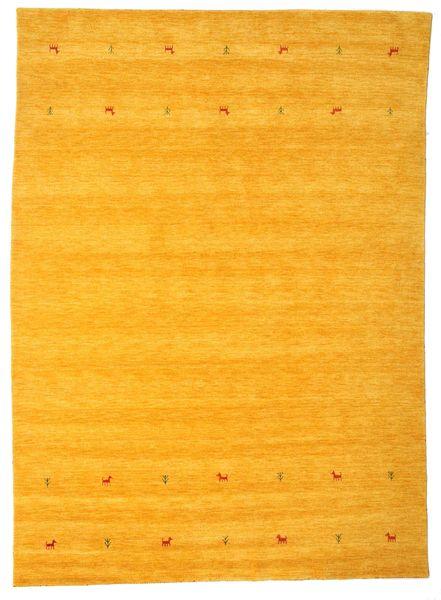 Gabbeh Loom Two Lines - Gelb Teppich  240X340 Moderner Orange/Gelb (Wolle, Indien)