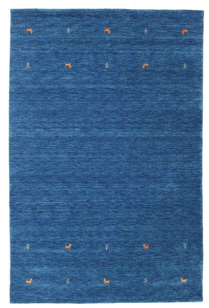 Koberec Gabbeh loom Two Lines - Modrá CVD15068
