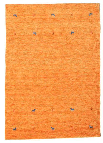 Gabbeh Loom Two Lines - Oranssi Matto 160X230 Moderni Oranssi (Villa, Intia)