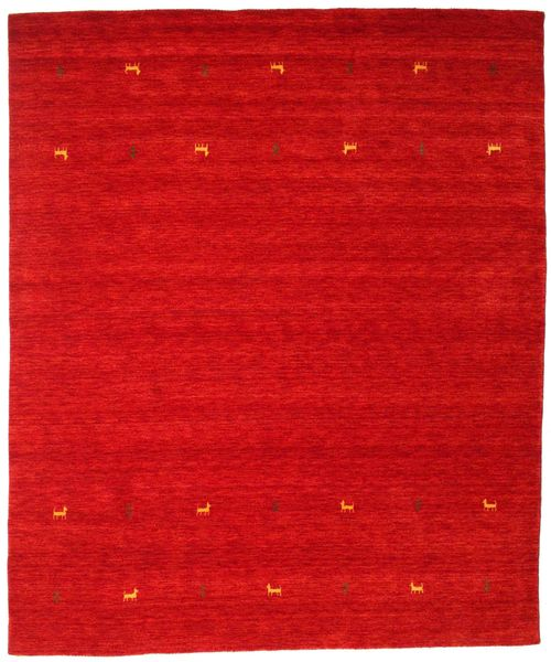 Alfombra Gabbeh loom Two Lines - Rust_Red CVD15007