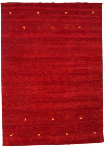 Gabbeh Loom Two Lines - Czerwony Dywan 240X340 Nowoczesny Czerwony/Ciemnoczerwony (Wełna, Indie)
