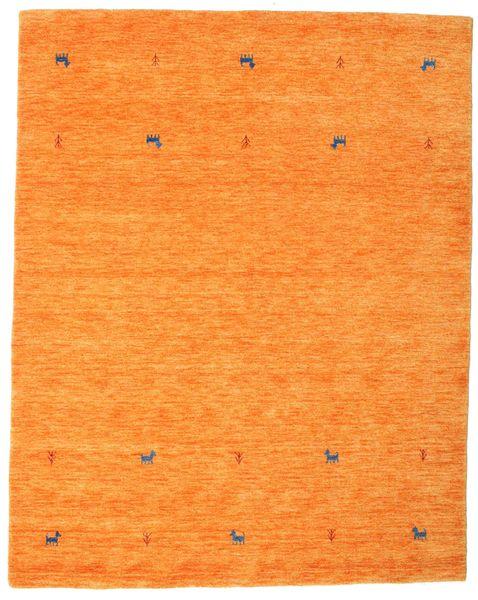 Gabbeh Loom Two Lines - Narancssárga Szőnyeg 190X240 Modern Narancssárga (Gyapjú, India)