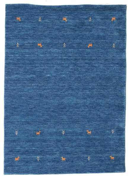 Gabbeh loom Two Lines - Blue rug CVD15074