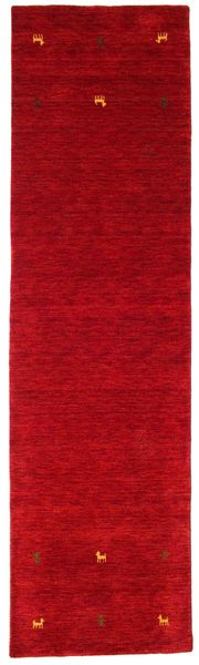 Alfombra Gabbeh loom Two Lines - Rojo CVD15021