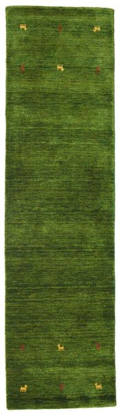 Gabbeh loom Two Lines - Green rug CVD15096