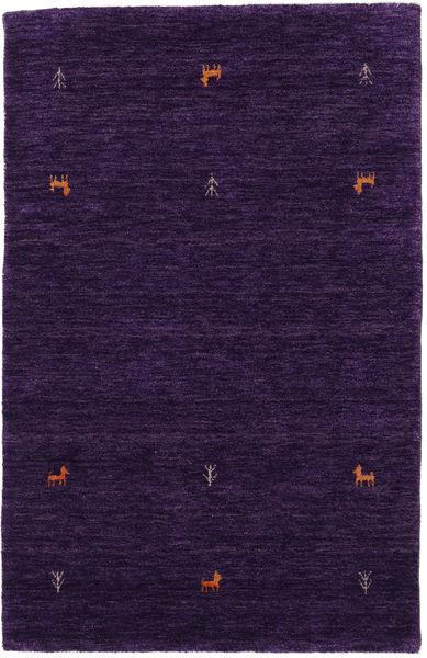 Alfombra Gabbeh loom Two Lines - Violeta CVD15293