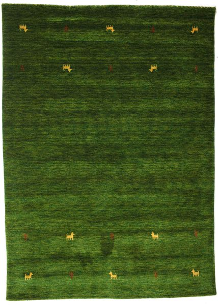Gabbeh loom Two Lines - Green rug CVD15101