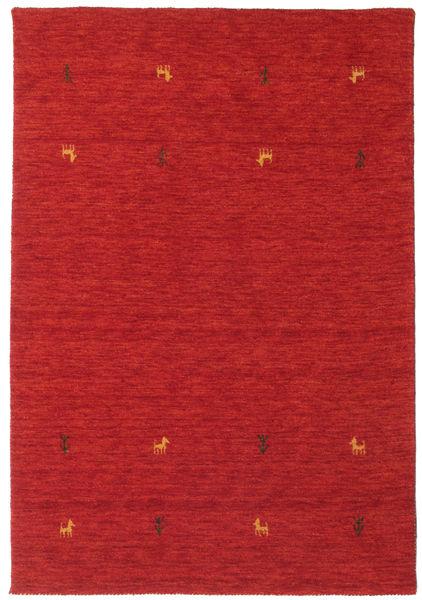 Alfombra Gabbeh loom Two Lines - Óxido Rojo CVD15016