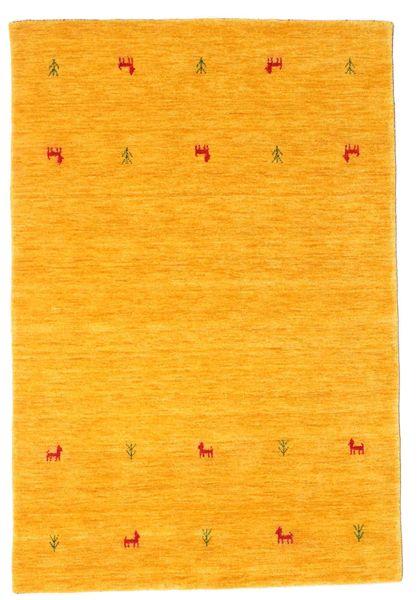 Alfombra Gabbeh loom Two Lines - Amarillo CVD15001