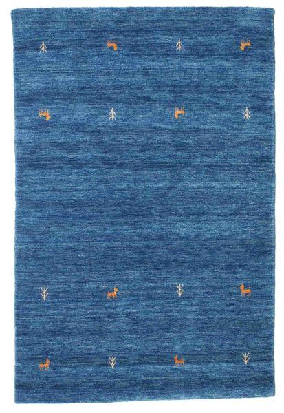 Gabbeh loom Two Lines - Sininen-matto CVD15076