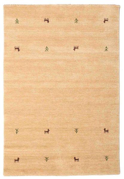 Gabbeh Loom Two Lines - Beige Rug 120X180 Modern Dark Beige/Light Brown (Wool, India)