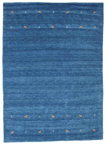 Gabbeh Loom Two Lines - Blue Rug 240X340 Modern Blue/Dark Blue (Wool, India)
