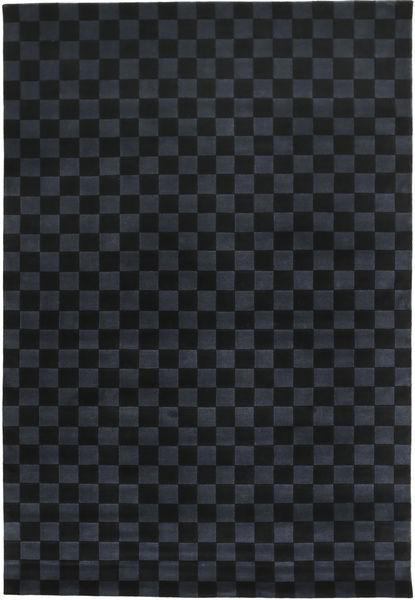 Himalaya Rug 170X249 Authentic  Modern Handknotted Black/Dark Blue (Wool, India)