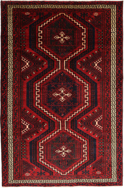 Lori Rug 174X267 Authentic  Oriental Handknotted Dark Brown/Dark Red/Crimson Red (Wool, Persia/Iran)