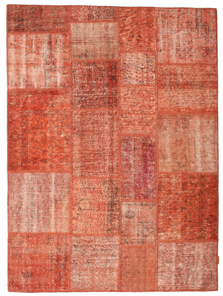 Patchwork Rug 170X232 Authentic  Modern Handknotted Light Pink/Light Brown (Wool, Turkey)