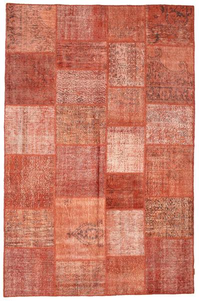 パッチワーク 絨毯 196X301 モダン 手織り 薄茶色/茶 (ウール, トルコ)
