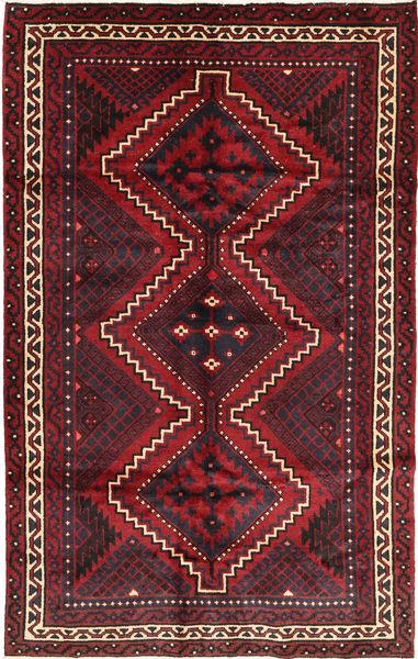 Lori Rug 178X283 Authentic  Oriental Handknotted Dark Red/Dark Brown (Wool, Persia/Iran)