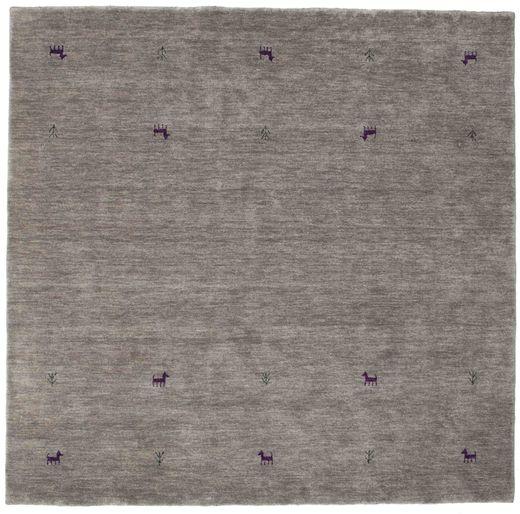Gabbeh loom Two Lines - Harmaa-matto CVD15319