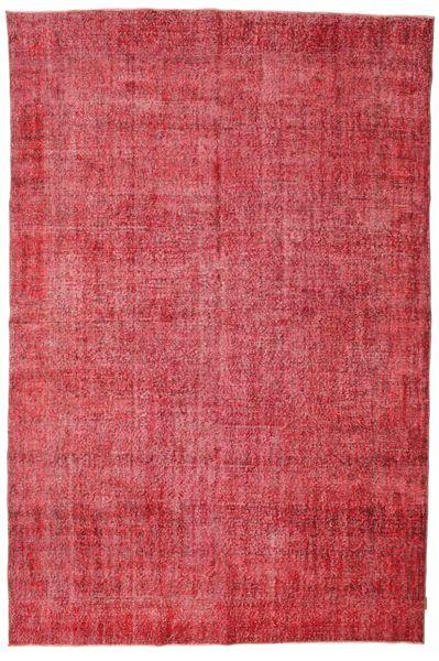 カラード ヴィンテージ 絨毯 215X325 モダン 手織り 赤/錆色 (ウール, トルコ)