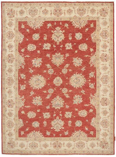 Ziegler Rug 173X236 Authentic  Oriental Handknotted Light Brown/Dark Red (Wool, Pakistan)