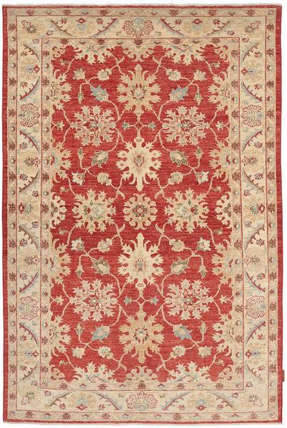 Ziegler Rug 149X220 Authentic  Oriental Handknotted Dark Red/Rust Red (Wool, Pakistan)