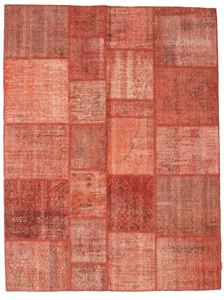 Patchwork Rug 175X232 Authentic  Modern Handknotted Light Pink/Light Brown/Brown (Wool, Turkey)