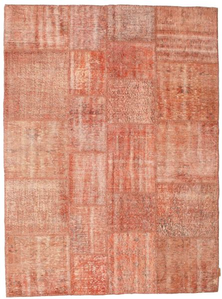 Patchwork Rug 172X233 Authentic  Modern Handknotted Light Brown/Light Pink (Wool, Turkey)