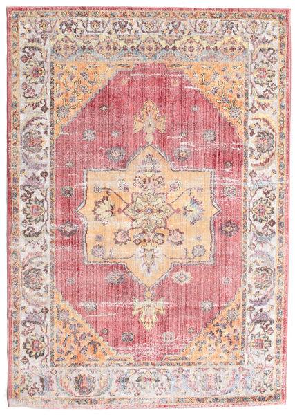 Khonsu - Piros Szőnyeg 160X230 Modern Világos Rózsaszín/Világosbarna ( Törökország)