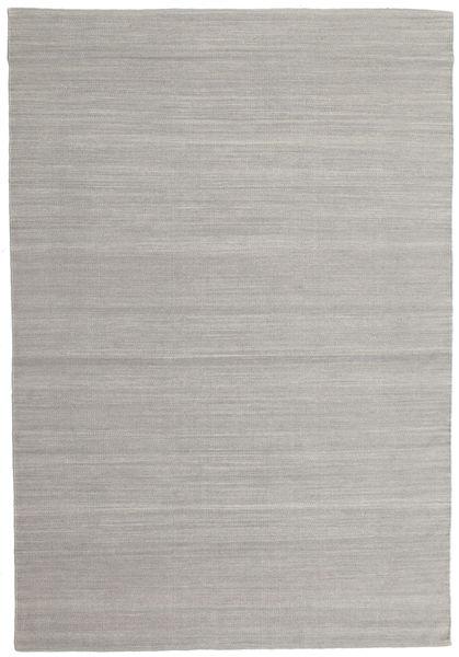Kilim Loom - Grey Rug 160X230 Authentic  Modern Handwoven Light Grey (Wool, India)