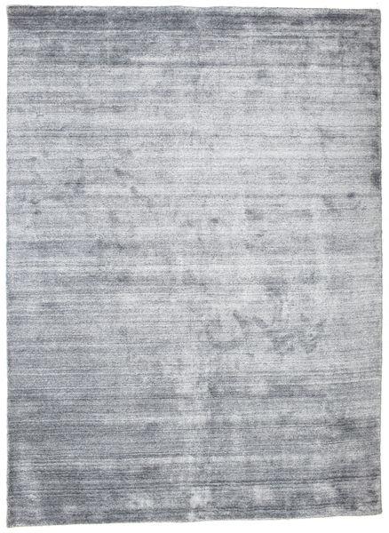 Bambu Silke Loom - Denim Blå Matta 160X230 Modern Ljusgrå/Ljusblå ( Indien)