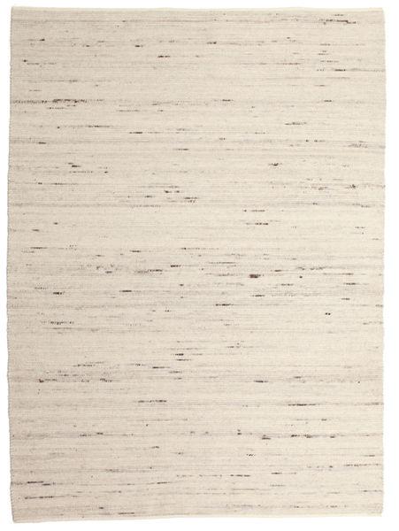 Helsinki - Light Grey Rug 240X340 Authentic  Modern Handwoven Beige/Light Grey (Wool, India)