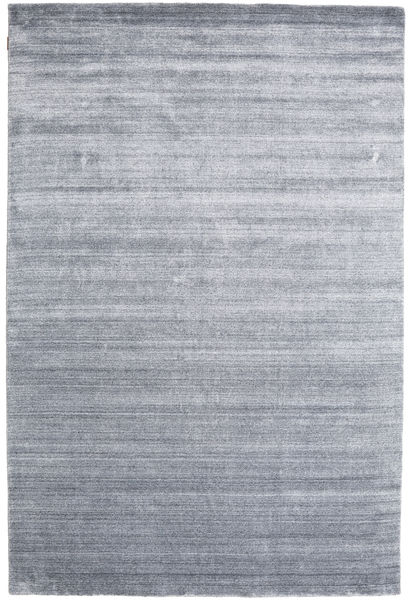 Bamboo Silk Loom - Denim Blue Rug 200X300 Modern Light Grey/Light Blue (Wool/Bamboo Silk, India)