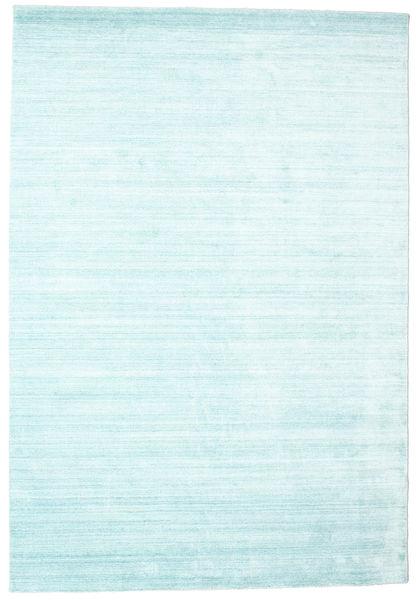 Bamboe zijde Loom - Lichtblauw tapijt CVD15266