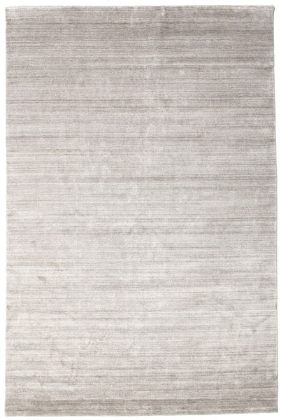 Bamboo Silk Loom - Warm Grey Rug 200X300 Modern Light Grey/White/Creme ( India)