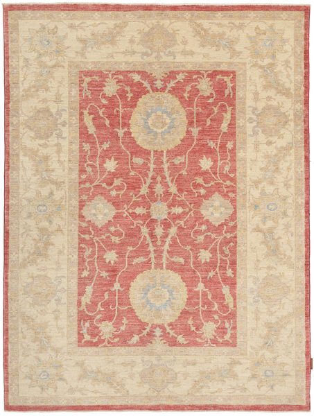 Ziegler Rug 171X233 Authentic  Oriental Handknotted Dark Beige/Light Brown (Wool, Pakistan)