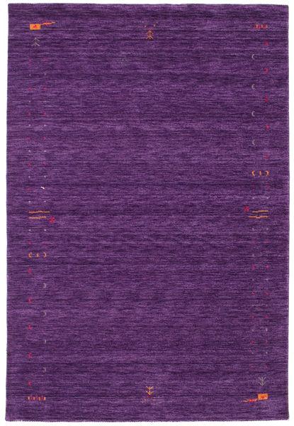 Gabbeh Loom Frame - Purple Rug 190X290 Modern Dark Purple (Wool, India)