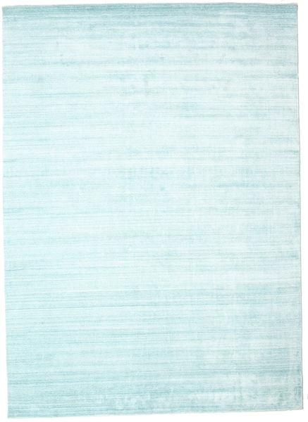 Bamboo silk Loom - Light Blue rug CVD15262