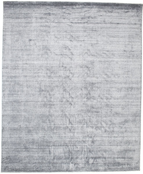 Bamboo Silkki Loom - Denim Sininen Matto 250X300 Moderni Vaaleanharmaa/Valkoinen/Creme Isot ( Intia)